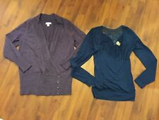 Women's Size Medium Large Sweater Shirt Lot Day trip Christopher Banks