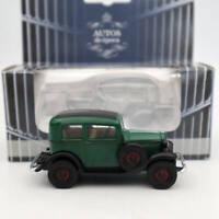 AUTOS de epoca 1/43 Opel P4 1935-37 Diecast Toys Models Classic Car Collection