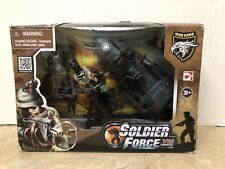 SOLDIER FORCE series VIII SCOUT WITH A WATER SCOOTER Play Set NEW
