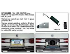 1978-88 G-Body License Plate Stay Down Conversion Kit