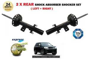 FOR LAND ROVER FREELANDER 2 2006-2014 NEW 2X REAR SHOCK ABSORBER SHOCKER SET