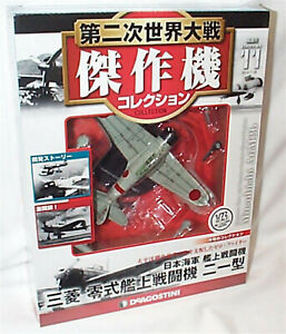 Mitsubishi A6M2a Carrier Based Fighter WW11 N0.19 DeAgostini 1:72 Scale New box