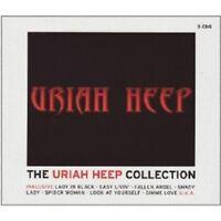 "URIAH HEEP ""THE URIAH HEEP COLLECTION"" 3 CD NEW+"