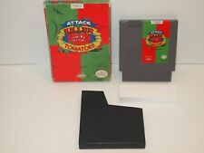 Attack of the Killer Tomatoes (Nintendo Entertainment System)  CART + BOX  NES