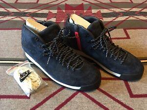 Nike ACG Magma TZ Fragment Design Suede Hiking Boots Size 11 NIB Obsidian Blue