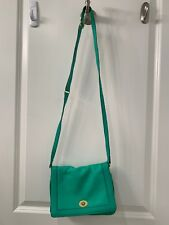 Jcrew Green Neon Cross Body Bag