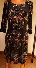 C.M. Schönes Designer Partykleid/Kleid von sheego, Samt, schwarz, Gr. 50 (°8b)