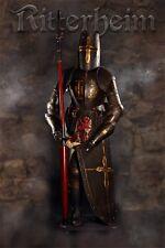 Armure chevalier medievale lance 193cm