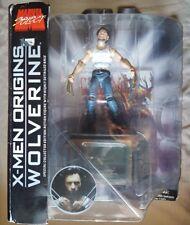 Marvel Select X-men ORIGINs Movie WOLVERINE Hugh Jackman 7in Figure DST Toys