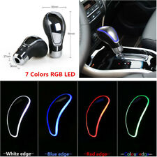 Multi-Color Touch Activated Sensor RGB LED Auto Car Gear Shift Knob +USB Charger