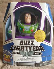 Buzz lightyear toy story collection blue clouds original 2009 new thinkway