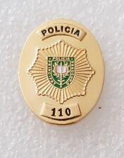 Principat d'Andorra policia (police) lapel pin badge