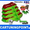 EBC Forros de freno traseros Greenstuff para RENAULT VEL SATIS BJ0 DP21354