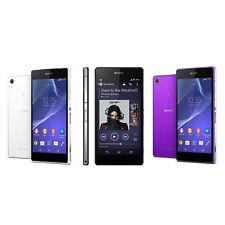 "Unlocked 5.2"" Sony Ericsson Xperia Z2 D6503 Smartphone LTE 16GB 20.7MP NFC Radio"