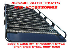 Tradesman Steel Open Ends Roof Rack 2200L for TOYOTA Landcruiser 76 Series Rack