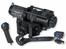 KFI Stealth 3500 Synthetic Winch + Mount- Yamaha Grizzly 700 4x4 2007-2015
