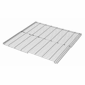 """Midwest Wire Mesh Top for Midwest Pens Black 48"""" x 48"""""""