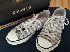 Converse All Star Chucks, flach, Gr.33, grau kariert, prima Zustand, OVP