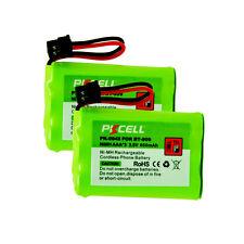 2pcs Cordless Phone Batteries for Uniden BT-909 BT909 HHR-P102 KX-TC1238 DCT6465