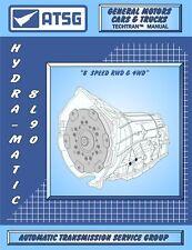 8L90 Rebuild Manual 8L45 ATSG Transmission Overhaul Techtran Service Book 8L90E