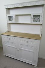 Country Farmhouse carved Sideboard Display Dresser French Shabby Chic style