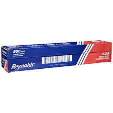 "Pactiv Reynolds Heavy-Duty Economy Aluminum Foil Roll Silver 500' L x 18"" W 