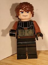 "Star Wars LEGO Evil Anakin Skywalker Digital Alarm Clock 9"" Figure"