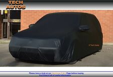 Premium Indoor Black Satin Car Cover Luxor SEAT Ibiza Mk5 Hatchback 2017 Onwards