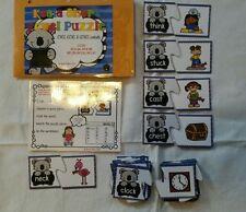 Phonics Centers Teacher Made Literacy Bag CVC Digraphs Puzzle Resource Supplies