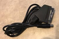 Scart Video Cable TV lead Sega Saturn NEW for NTSC & PAL USA Seller