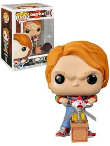 Chucky With Scissors childs play 2 funko pop special edition