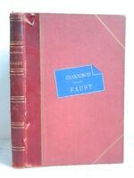 Spartito Faust Opera IN 5 J Atti Barbier E M Quadrati Ch Gounod Canto E Piano