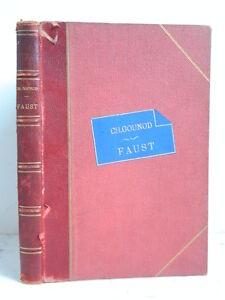 Partition Faust Opéra en 5 Actes J Barbier et M Carré Ch Gounod Chant et Piano