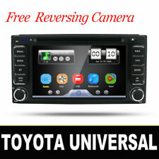 GPS Sat Nav Car Stereo Bluetooth DVD Radio For Toyota Corolla RAV4 Prado Yaris