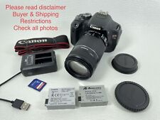 Canon EOS Rebel T3i 18MP DSLR 64GB With EFS IS 55-250mm Lens in Good Condition