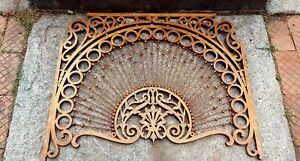Stunning Antique Victorian Oak Fretwork - Divider Panel- Hotel Broadwater Helena