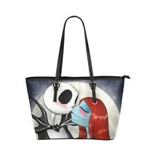 Ladies Tote Shoulder Handbag Purse Large Capacity Nightmare Before Christmas