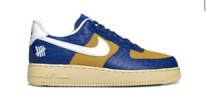 Nike Air Force 1 Low SP x Undefeated 5 On It Blue Yellow Croc Size 9 *In Hand*
