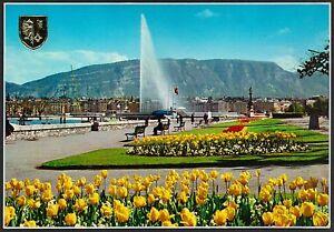 AD3759 Switzerland - Geneve - The Quai Wilson Et The Jet D'Eau