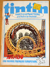 BD Comics Magazine Hebdo Journal Tintin No 31 34e 1979 Parcs D'attraction
