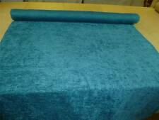TEAL - Stylish Chenille Upholstery / Curtain Fabric