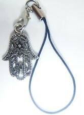 Antique Silver HAND OF MARY Phone Charm Gift Bag iPhone SAMSUNG NOKIA HAUWEI
