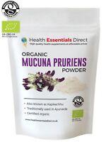 Organic Mucuna Pruriens Powder (L-Dopa, Kapikachhu, Velvet Bean) Choose Size
