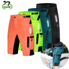 Mens Baggy Cycling Shorts MTB Bike Short Pants Loose 3D Padded Shorts Breathable