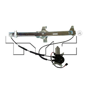 Power Window Regulator with Motor for 92-14 Ford Econoline Front Passenger Right