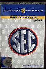 Official Licensed NCAA College Football Auburn SEC Conference Patch