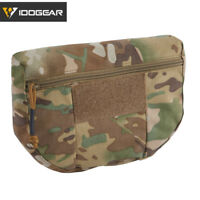 IDOGEAR Tactical Drop Pouch Armor Tool Organizer Bag for Plate Carrier Vest Camo
