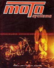 MOTOCYCLISME 31 BSA 500 GOLD STAR BULTACO Lobito 125 MOTOBECANE SP 94 SOLEX 1971