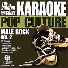 Pop Culture: Male Rock, Vol. 2 by The Singing Machine (CD, Mar-2006, Singing Mac