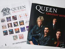 "Queen ""2011 Digital Remastered / Greatest Hits"" 2-Sided Thailand Promo Poster"